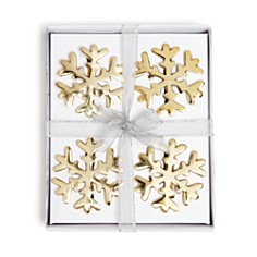 Aman Imports - Snowflake Napkin Rings, Set of 4 - 100% Exclusive